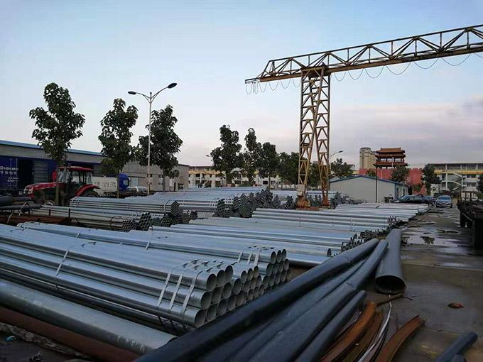 钢管销售货场